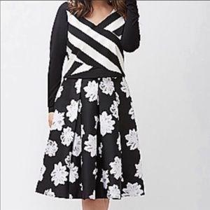 45ab891cf9 Lane Bryant Skirts - lane bryant floral box pleat skirt